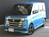 スズキ スペーシアカスタム Zターボ デュアルカメラブレーキサポート装着車 4WD