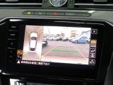 """アラウンドビューカメラ""""Area View"""":運転席から視認しにくい周囲の情報を、フロント左右サイドリヤの4台のカメラにより、車両を上空から見下ろしているような合成画像をディスプレイに表示します。"""