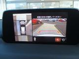 360度モニターなのでバックも狭い道も安心です!