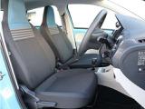 ティールブルー専用のシートです。シートデザインにもブルーが使われています。遊び心のあるシートが目を引きます。
