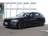 BMW 523dツーリング ブラックアウト ディーゼル