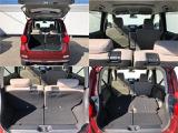 バックドアは跳ね上げ式!リヤシートの背もたれを倒すことでさらに奥行きが!左右のシートを別々に倒せるため、使い方が広がります!