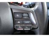 ★ステアリングのスポーク部にはアイサイトの追従クルーズコントロール用の操作スイッチを配置!各種スイッチの機能なども納車時にご説明いたします!
