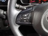 ステアリングスイッチ付きで運転中の操作もハンドルから手を放さずに簡単に行えます☆