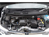 【エンジンルーム】エンジンは車の心臓部分。弊社は納車前にHONDA車を知り尽くしたサービスマンによる点検整備を行いますので安心してお乗りいただけます♪