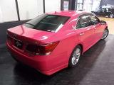 トヨタ クラウンハイブリッド アスリート 2.5 G リボーン ピンク