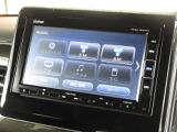 ナビゲーションはギャザズメモリーナビ(VXM-184VFi)を装着しております。AM、FM、CD、DVD再生、Bluetooth、フルセグTVがご使用いただけます。初めて訪れた場所でも道に迷わず安心です!