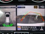 日産のCMでお馴染みのアラウンドビューモニターは、ご覧のように駐車時の強い味方です。