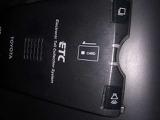 ETC車載器付いてます。 料金所でのもたつきが解消されると思います。カードの入れ忘れには気をつけて下さい。