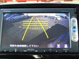 リアカメラ付☆セレクトレバーを「R」に入れると、車両後方の映像が見れます。