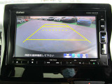 バックカメラ付いています!バック駐車が苦手な方や、初めてのお車で不安な方でも後方をナビ画面に映してくれるので、ラクラク停めれますよ♪