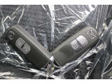 スマートキーは2個付属、予備の鍵があると安心ですよね。
