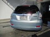 リアビューのお写真です。 リアガラスは純正でプライバシーガラスを装用しており外から車内が見えにくくなっております♪