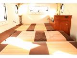 下段ベッドは183cm×100?115cm 大人2名就寝可能です☆