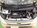 高出力なのに低燃費・静かな新開発エンジン。