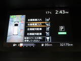 アラウンドビューモニターにパーキングアシスト装備♪車庫入れが苦手な方も安心です!!