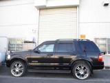 エクスプローラー エディバウアー 4WD 3列シート22AW 黒革 4WD HDDナビBカメラ