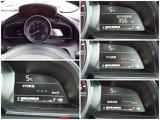 【頻繁に確認する項目】 車速度を確認する際にメーターを注視しよそ見をしてしまいますが、ヘッドアップディスプレイにメーターが投影されているのでよそ見の防止につながります。