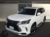 LX570 4WD AWD サンルーフ 純正SDナビ・TV 全周囲カメラ レザーシート モデリスタエ