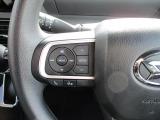 純正ナビ等のオーディオ操作用ステアリングスイッチ。運転姿勢を変えることなく音量調節や選曲等の操作ができます。