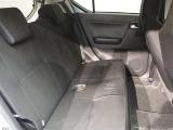 リヤシートの背もたれを倒すことができ、ラゲージスペースを広くできます!