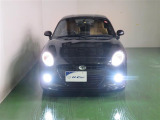 LEDライト搭載です。明るいヘッドライトのクルマに乗ってみると、その視界の良さに感動しますよ☆