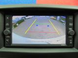 バックビューモニターの映像です!カメラがあると、駐車するときや後退時の安心感が違いますよね♪