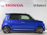 低全高モデルのローダウンモデル。ブルーとブラックの2トーンでより低くスタイリッシュなデザインとなっております。合皮のコンビネーションシート、15インチ専用アルミ、スポイラーなどを装備