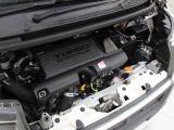 KF-VET型 0.658L 直3 DOHC ICターボエンジン搭載、FF駆動です。