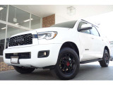 セコイア SR5 5.7 V8 4WD TRDPROブラックレザーCarPlayサンルーフ