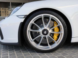 ◆20インチ 911GT3ホイール/シルバーペイント ◆イエローキャリパー ◆PCCB:ポルシェセラミックコンポジットブレーキ
