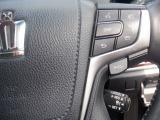 クルーズコントロールを装備していますので、高速道路などでアクセルペダルを踏まずに車速を一定に保つことが可能です