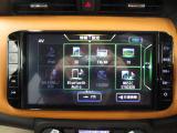 大画面の純正ナビゲーション搭載。操作性に優れ直感・感覚的に使用していただけます。