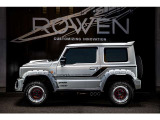 ジムニーシエラ 1.5 JC 4WD 1.5JC ROWENエアロ WORK16AW