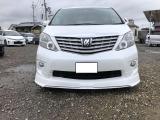 アルファード 2.4 240S 両側パワスラ HDDナビ 車高調新品