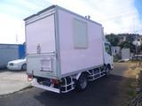 アトラス  移動販売車 キッチンカー 左右大型開口部