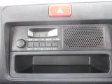 ラジオ付きです