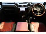 ディフェンダー 90 4WD 6MT NoxPM適合 ナビTV シートヒーター 16AW
