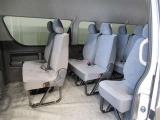 後席シートです