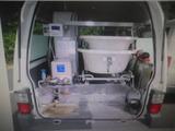 ボンゴバン  入浴車 デベロ 分割タブ