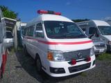 キャラバン  救急車 8人乗り 超低走行