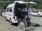 キャラバン  車いす移動車 福祉車両
