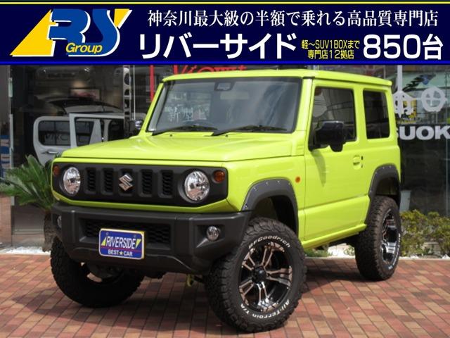 スズキ ジムニー XL 4WD 1オーナー 2インチリフトアップ