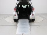 ラクティス 1.3 X ウェルキャブ 車いす仕様車スロープタイプ タイプI 助手席側リアシ...