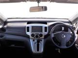 運転席から見た風景です。オーディオは使用できません。