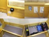 ☆ツインサブバッテリー 走行充電 外部充電、電源 1500Wインバーター☆