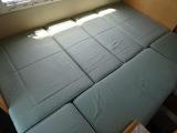 ダイネットベッド寸法「190×125」大人2名分のスペースとなります♪