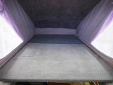 上段ポップアップ部ベッド寸は1800×1000(mm)