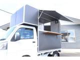 ハイゼットトラック 移動販売車 キッチンカー 冷蔵コールドテーブル