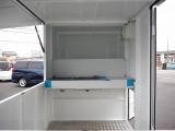 キャリイ 移動販売車 キッチンカー 新規製作オリジナルBOX